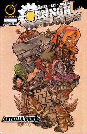 Cannon Busters - Image: Cannon Busters 0