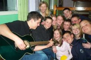 Catholic youth work - Young people at Castlerigg Manor