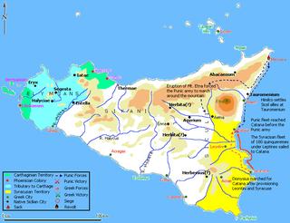 Battle of Catana (397 BC)