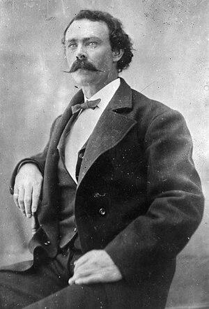 Clay Beauford - Clay Beauford in Tombstone, Arizona, c. 1875
