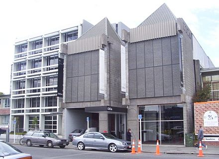 The Centre of Contemporary Art gallery in Christchurch CoCAgallery.jpg