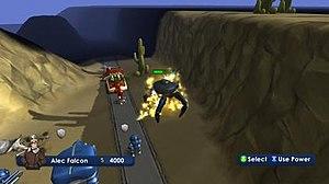 Commanders: Attack of the Genos - Gameplay screenshot.