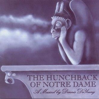 The Hunchback of Notre Dame (Dennis DeYoung album) - Image: DDY Hunchback