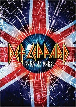 Rock of Ages: The DVD Collection - Image: Def Leppard Rock Of Ages DVD