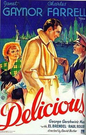 Delicious (film) - original film poster
