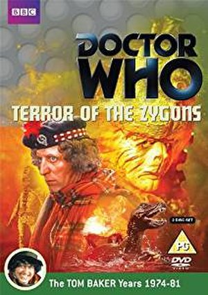 Doctor Who (season 13) - Cover art of the Region 2 DVD release for first serial of the season