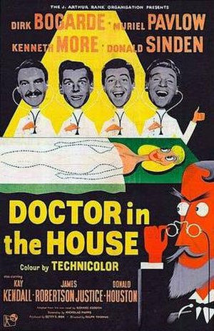 Doctor in the House - British original cinema poster