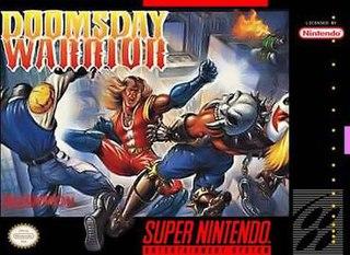 <i>Doomsday Warrior</i> (video game) 1992 video game