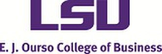 E. J. Ourso College of Business - Image: E. J. Ourso College of Business (logo)