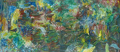 Earth's Creation (1994 painting) by Emily Kame Kngwarreye.jpg