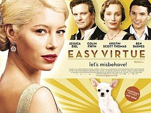 Easy Virtue (2008 film) - Theatrical release poster