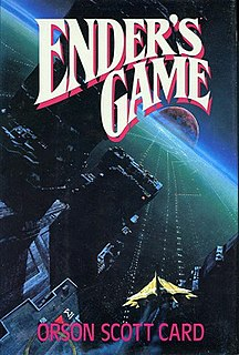<i>Enders Game</i> 1985 book by Orson Scott Card