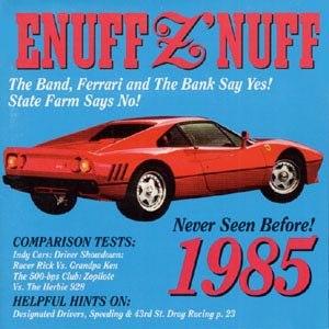 1985 (album) - Image: Enuffznuff 1985 US