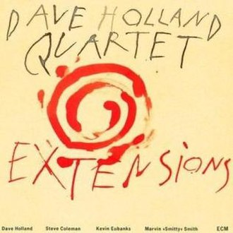 Extensions (Dave Holland album) - Image: Extensions