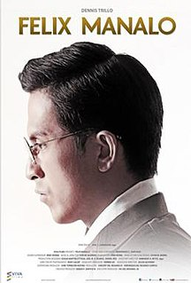 <i>Felix Manalo</i> (film) 2015 film by Joel Lamangan