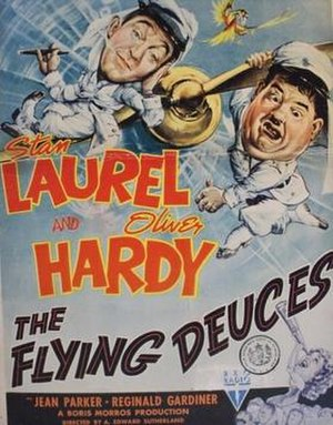 The Flying Deuces - Film poster