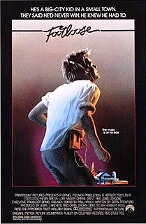 <i>Footloose</i> (1984 film) 1984 American musical-drama film directed by Herbert Ross