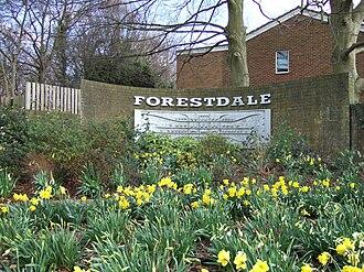 Forestdale, London - Image: Forestdale entrance