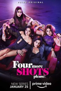 <i>Four More Shots Please!</i> Indian web series