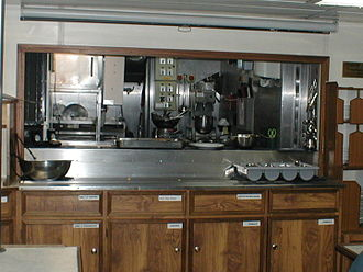 Galley (kitchen) - Image: Galley on the Stavros S Niarchos