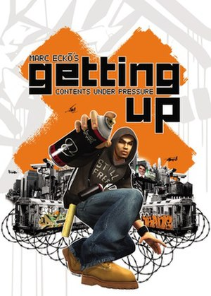 Marc Eckō's Getting Up: Contents Under Pressure - North American Microsoft Windows cover
