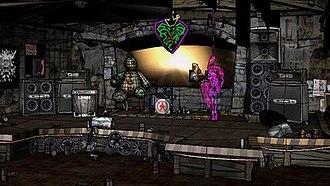 Guitar Hero III: Legends of Rock - Image: Gh 3 stage popup