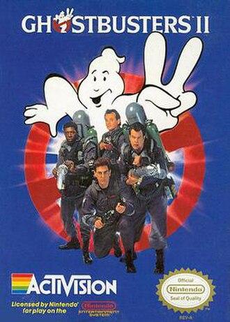Ghostbusters II (NES video game) - North American box art