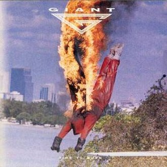 Time to Burn (Giant album) - Image: Giant time to burn font