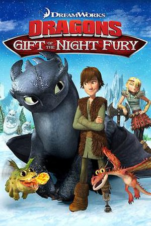 Gift of the Night Fury - DVD cover