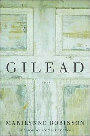Gilead (novel) - Cover of the first edition