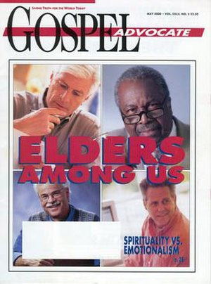 Gospel Advocate - May 2000 issue of Gospel Advocate