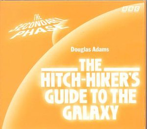 "The Hitchhiker's Guide to the Galaxy Primary and Secondary Phases - The cover of the 1996 CD release of ""The Secondary Phase."""