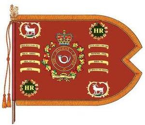 The Halifax Rifles (RCAC) - The guidon of The Halifax Rifles (RCAC).