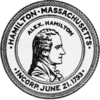 Official seal of Hamilton, Massachusetts