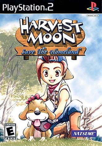Harvest Moon: Save the Homeland - Image: Harvest Moon Save The Homeland cover art