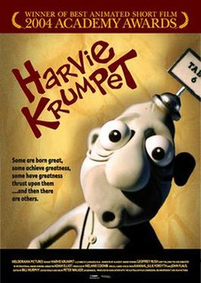 <i>Harvie Krumpet</i> 2003 Australian animated short film directed by Adam Elliot