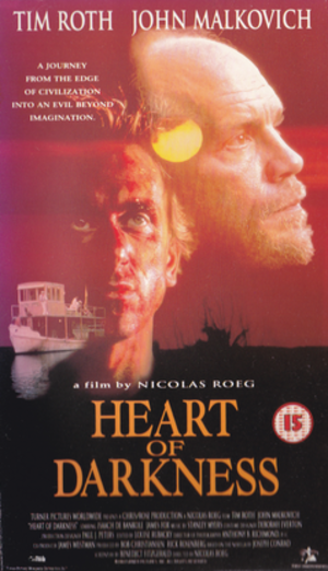Heart of Darkness (1993 film) - UK VHS cover