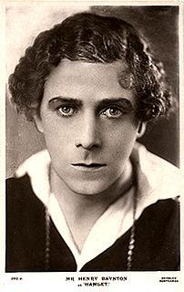 Henry Baynton British actor