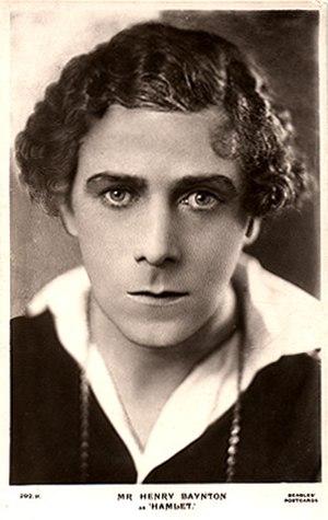 Henry Baynton - Henry Baynton as Hamlet c.1917