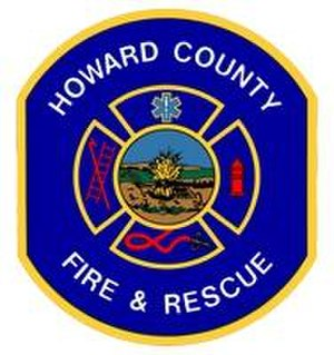 Howard County Department of Fire and Rescue Services - Image: Howard County Fire Logo