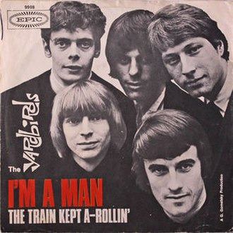 I'm a Man (Bo Diddley song) - Image: I'm a Man single by The Yardbirds