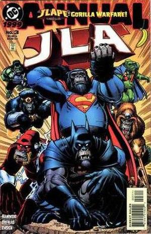 JLApe: Gorilla Warfare! - Image: JLA Annual 3
