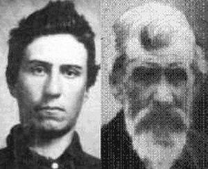 Texas Jack Vermillion - John Wilson Vermillion Photos 1861 and 1910