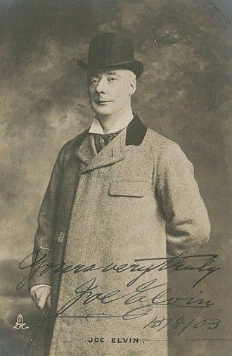 Grand Order of Water Rats - Founder Joe Elvin c. 1890