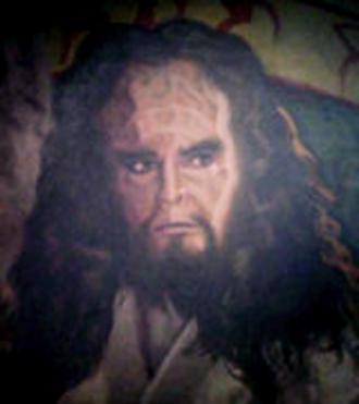 'u' - Kahless, founder of the Klingon Empire