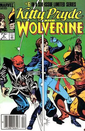 Kitty Pryde and Wolverine - Image: Kitty Prydeand Wolverine 6