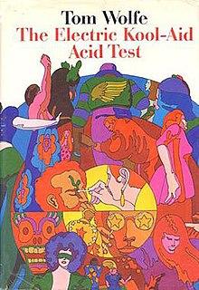 <i>The Electric Kool-Aid Acid Test</i> book by Tom Wolfe