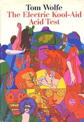 The Electric Kool-Aid Acid Test - Cover of the first US Edition