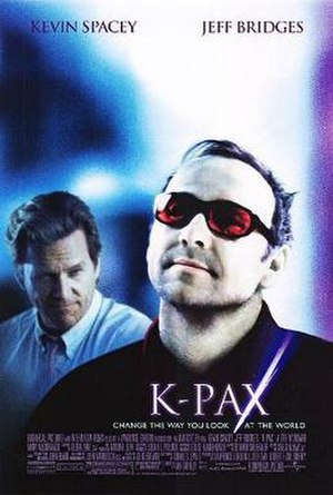 K-PAX (film) - Theatrical release poster