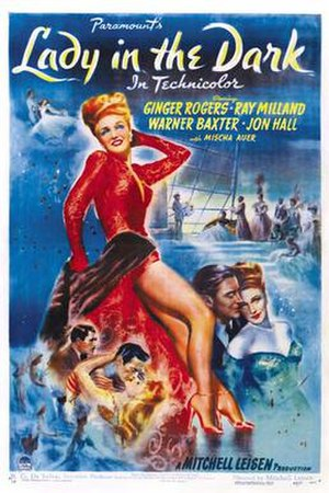 Lady in the Dark (film) - Film poster
